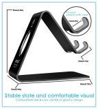 Soporte con el escritorio de los accesorios - negro del teléfono celular