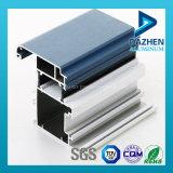 La extrusión de aluminio anodizado con el perfil personalizado Tamaño
