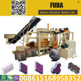 Automatische Block-Maschine der Hydraulikanlage-Qt4-20c für Verkauf in Ghana
