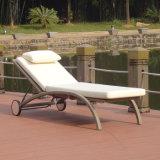 Im Freiengarten-Möbel-Rattan-Plastikholz für Patio-Gaststätte-faltenden Klappstuhl