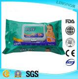 ISO GMPC продает Wipe оптом младенца самого лучшего качества еды качества безалкогольный