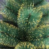 árbol de navidad 90cm/40t con el color verde y de oro para la decoración del día de fiesta