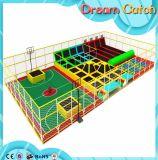 Крытый миниый парк Trampoline Bungee/гимнастическая скача кровать Trampoline