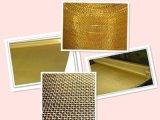 銅線の網か黄銅の金網
