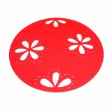 3mm u. 5mm Sprung-Jahreszeit-Polyester 100% Placemat für Tischplatte