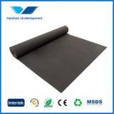 assise imperméable à l'eau noire de tapis de 2mm EVA