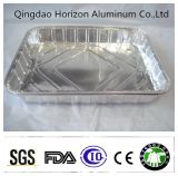 Barbecue con il contenitore resistente a temperatura elevata del di alluminio