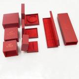 Pull-out коробка рождества кольца ожерелья серьги типа (J54-E2)