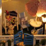 2017 grande Chambre de poupée en bois du jouet DIY de gosses