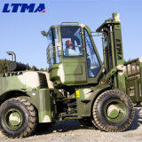 Preço especial do Forklift 4X4 Forklift do terreno áspero de 5 toneladas