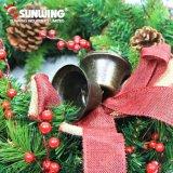 2017 grinaldas artificiais baratas por atacado do Natal para a decoração ao ar livre