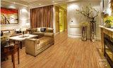 Mattonelle di pavimento di ceramica di slittamento di legno di sguardo di buona qualità non