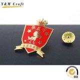 Heißes Verkaufs-Laufkatze-Münzen-Metallschlüsselkette (Y02531)