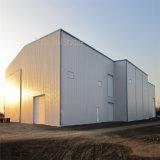 Construction préfabriquée d'atelier en métal de structure métallique
