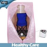 Sauna portatile a buon mercato una mini stanza di sauna del vapore della persona