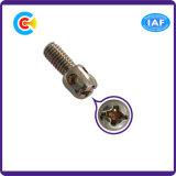 구멍을%s 가진 전력 산업을%s 원통 모양 맨 위 교차하는 물개 Pin 또는 나사