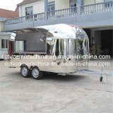 Acero inoxidable Profesional de diseño móviles carritos de comida rápida (SHJ-MBT4000)