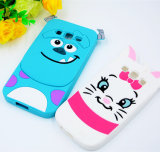 2016 Promoção Gift Cartoon Silicone Rubber Soft Case para iPhone