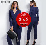 New Design Playsuit Moda Mulher Jumpsuits Lady Jumpsuit