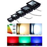 AC85-265V wasserdichte IP67 10W Wand RGB der im Freienbeleuchtung-färbt Park-Flut-Licht