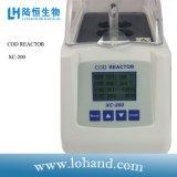 Reattore del merluzzo ed analizzatore portatili del merluzzo del riscaldatore Xc-200 della provetta
