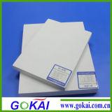 122 x 220 scheda della gomma piuma del PVC di cm X 3mm con. 55 densità con la pellicola del PE di Doubble Sie