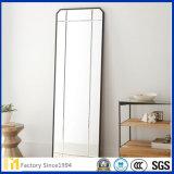 Espejo de aluminio rectangular, cuadrado, oval de 5m m para el vestidor / el piso / el espejo derecho