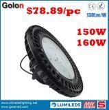 Indicatore luminoso del magazzino della lampada 130lm/W 200W 100W 150W LED della baia di Dimmable del sensore luminoso eccellente alto