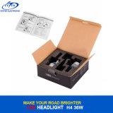 12V/24V 자동 전구 36W 4000lm S2 H4 9003 H11 H7 9005 Csp 한국 칩을%s 가진 9006의 LED 헤드라이트