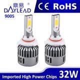 3200lm 9005 9006의 자동 LED 헤드라이트 DC 9-36V LED 차 헤드라이트