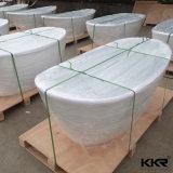 Banheira de pedra de resina de materiais sólidos de superfície sanitária
