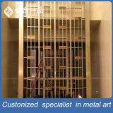 مشاريع البناء مواد البناء الزخرفية الفولاذ المقاوم للصدأ الشاشة للغرفة