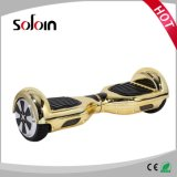 Scooter électrique intelligent de batterie au lithium de panneau de vol plané de 2 roues (SZE6.5H-4)