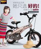 """新式のAges1-3 12 """"子供の自転車はバイクのLCバイク104をからかう"""