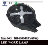 6 Inch LED Lamps für Diving, 4X4 Offroad Jeep Round Black 60W IP68 Waterproof Auto Vehicle LED Work Light