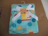 刺繍の漫画の赤ん坊の製品の/Baby毛布