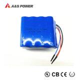 pacchetti ricaricabile 6s2p della batteria dello Li-ione del litio di 22.2V 4400mAh 18650