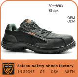 Zapatos de seguridad ligeros de la punta del verano compuesto del casquillo Sc-8803