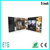 5 인치 LCD 영상 광고 영상 인사장
