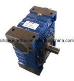 A caixa de engrenagens do sem-fim da maquinaria Nmrv150 de Sihai ajustou-se com caso de madeira