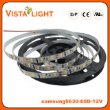 Luz de tira flexível do diodo emissor de luz de SMD5630 12V RGB para partes dianteiras do escritório
