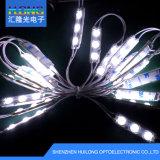 Luz blanca con la luz del módulo de la lente óptica LED