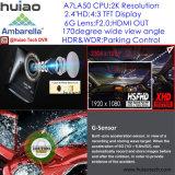 """2.4 """" G-Датчик автомобиля 1296p DVR разрешения Ambarella A7la50 2k супер Built-in, 5.0mega камера, Hdr, WDR, функция DVR-2404 Dectection движения"""