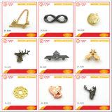 Contrassegno di marchio del metallo della borsa di 2017 abitudini