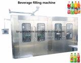 Завершите цену машины завалки напитка энергии померанцового пульповидного сока разливая по бутылкам
