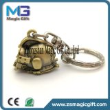 Faire à votre propre métal 3D de logo les pièces de chaîne principale, constructeurs faits sur commande de trousseau de clés de souvenir en gros en métal