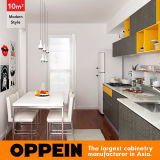 10 Ontwerp van de Keuken van de Kitchenette van de Stijl van de Rechte lijn van vierkante Meters het Moderne (OP16-M06)