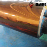 Revestimiento de madera de aluminio del espejo 2m m de plata del letrero 1220*2440m m