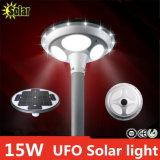 極度の明るい15W UFOの太陽街灯