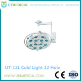 Examinación ligera Shadowless quirúrgica del funcionamiento del techo LED Llamp Ot LED de la alta calidad de Ut-500III